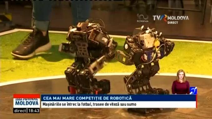 video câștiga cu ajutorul robotului)