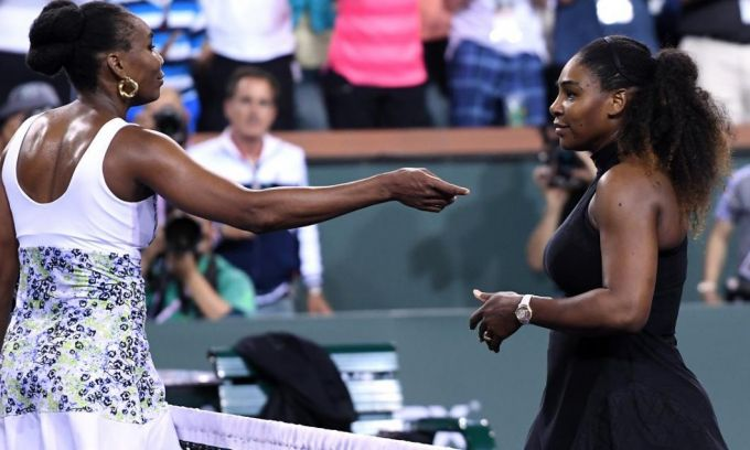 Serena Williams, eliminată de la Indian Wells de sora ei, Venus