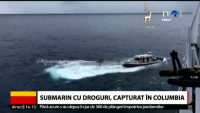Submarin care transporta două tone de cocaină, capturat de forţele navale columbiene